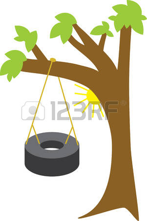 301x450 Tire Swing Clipart Rope Swing