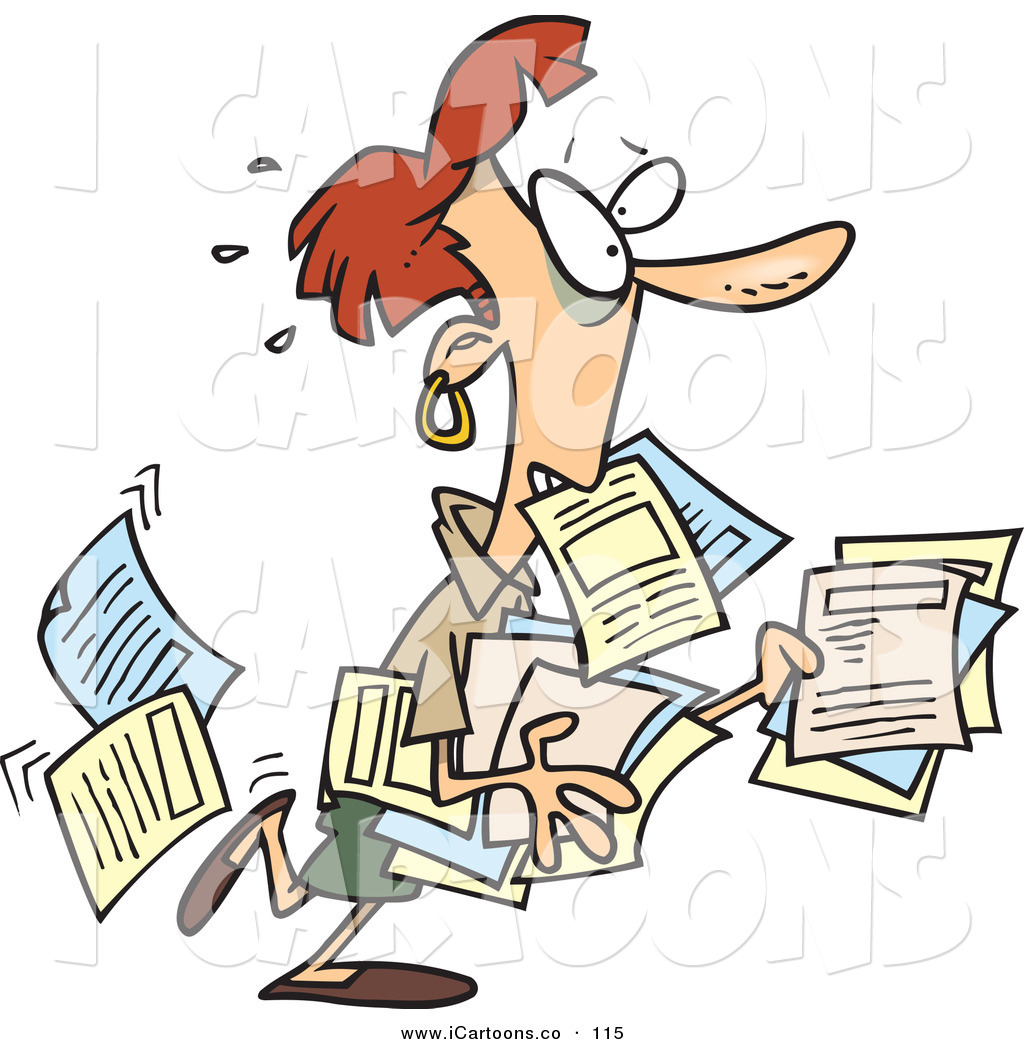 1024x1044 Tired At Work Clipart