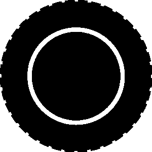 300x300 Tires Clipart Outline
