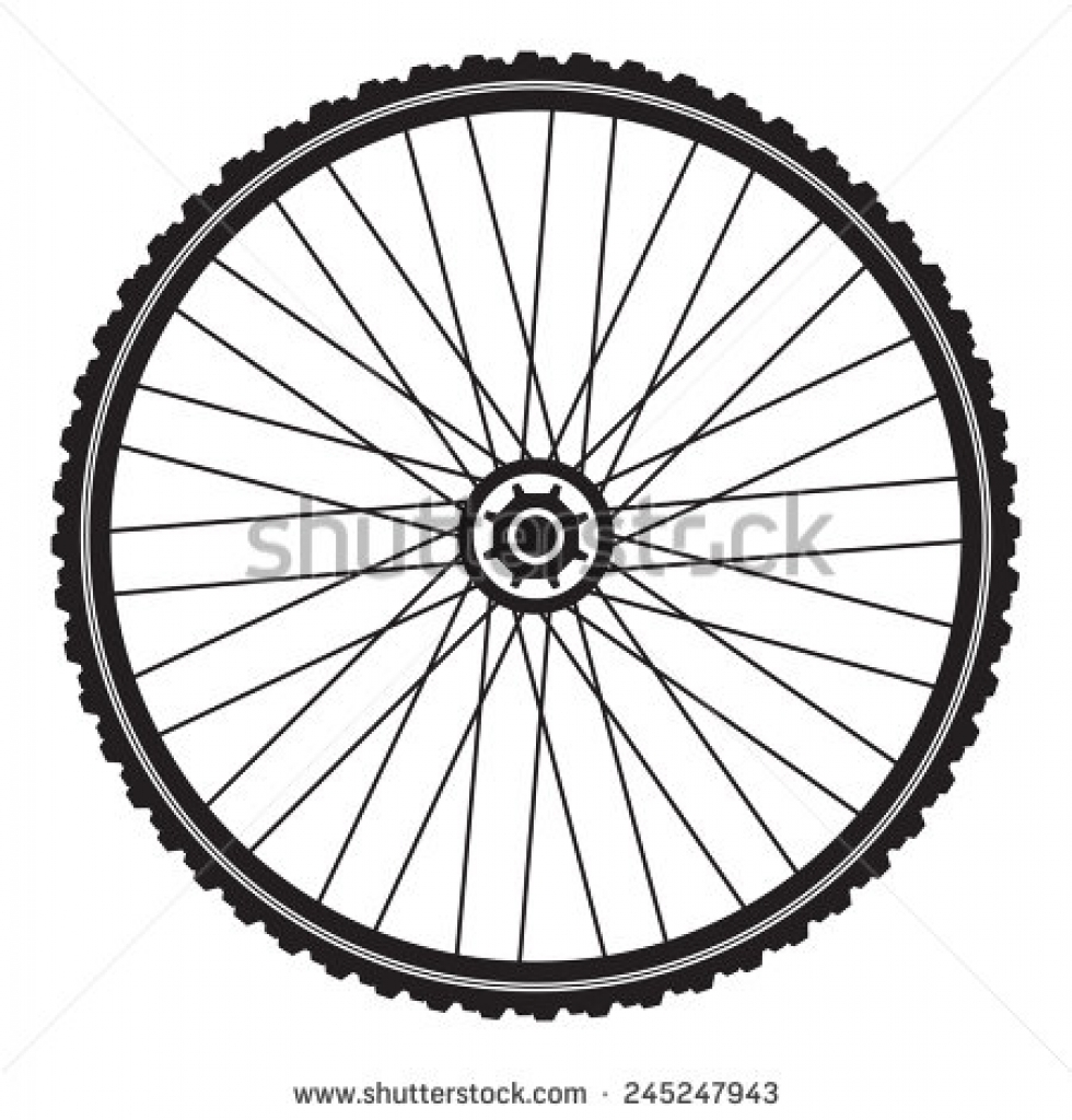 980x1024 Bicycle Tires Clipart