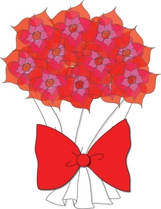 232x300 Free Flowers Clipart Image 0071 0803 0615 2435 Valentine Clipart