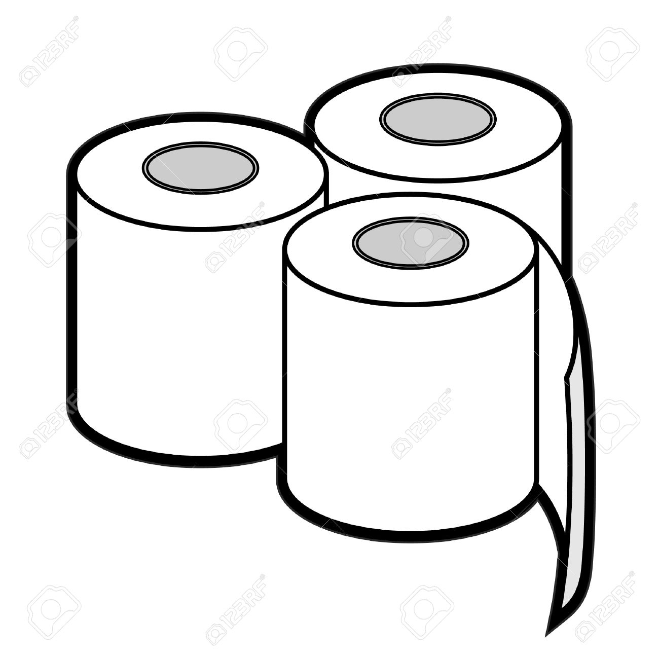 1300x1300 Toilet Clipart Toilet Roll