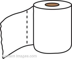 300x244 Toilet Tissue Clipart