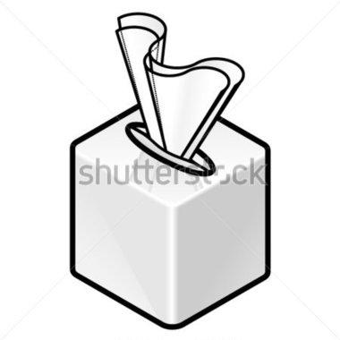 380x380 White Cube Clipart