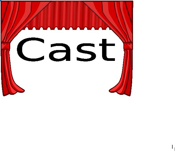 600x516 Cast List Title Clip Art