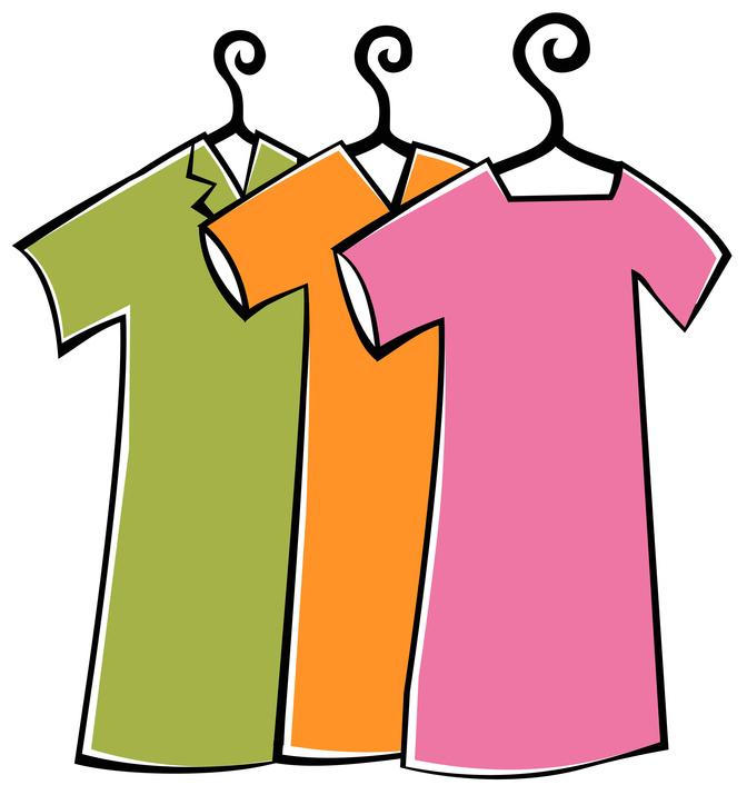 672x715 Clipart Clothes
