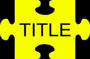 300x198 Puzzle Piece Title Clip Art