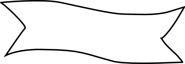 599x208 Ribbon Title Clip Art Free Vector In Open Office Drawing Svg