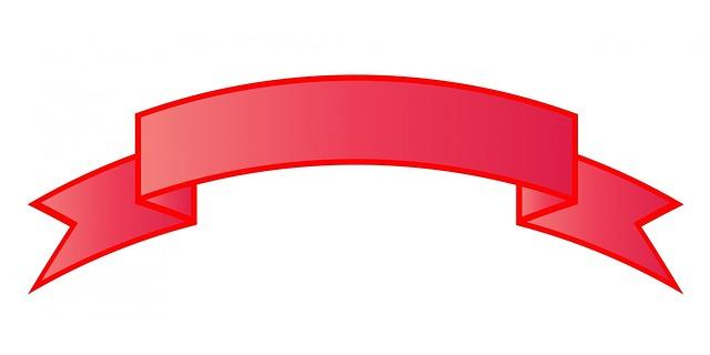 640x320 Ribbon Clipart Title