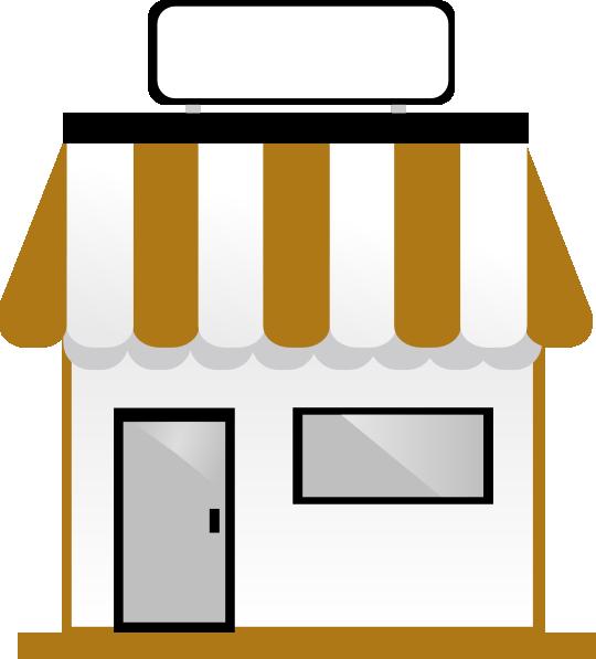 540x597 Shop Front Without Title Clip Art