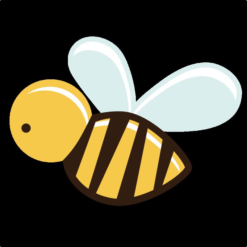 800x800 Bee Svg File Free Bee Cut File Scrapbooks Free Svg Files