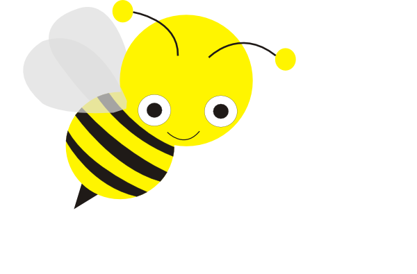 600x395 Best Flying Bee Clipart