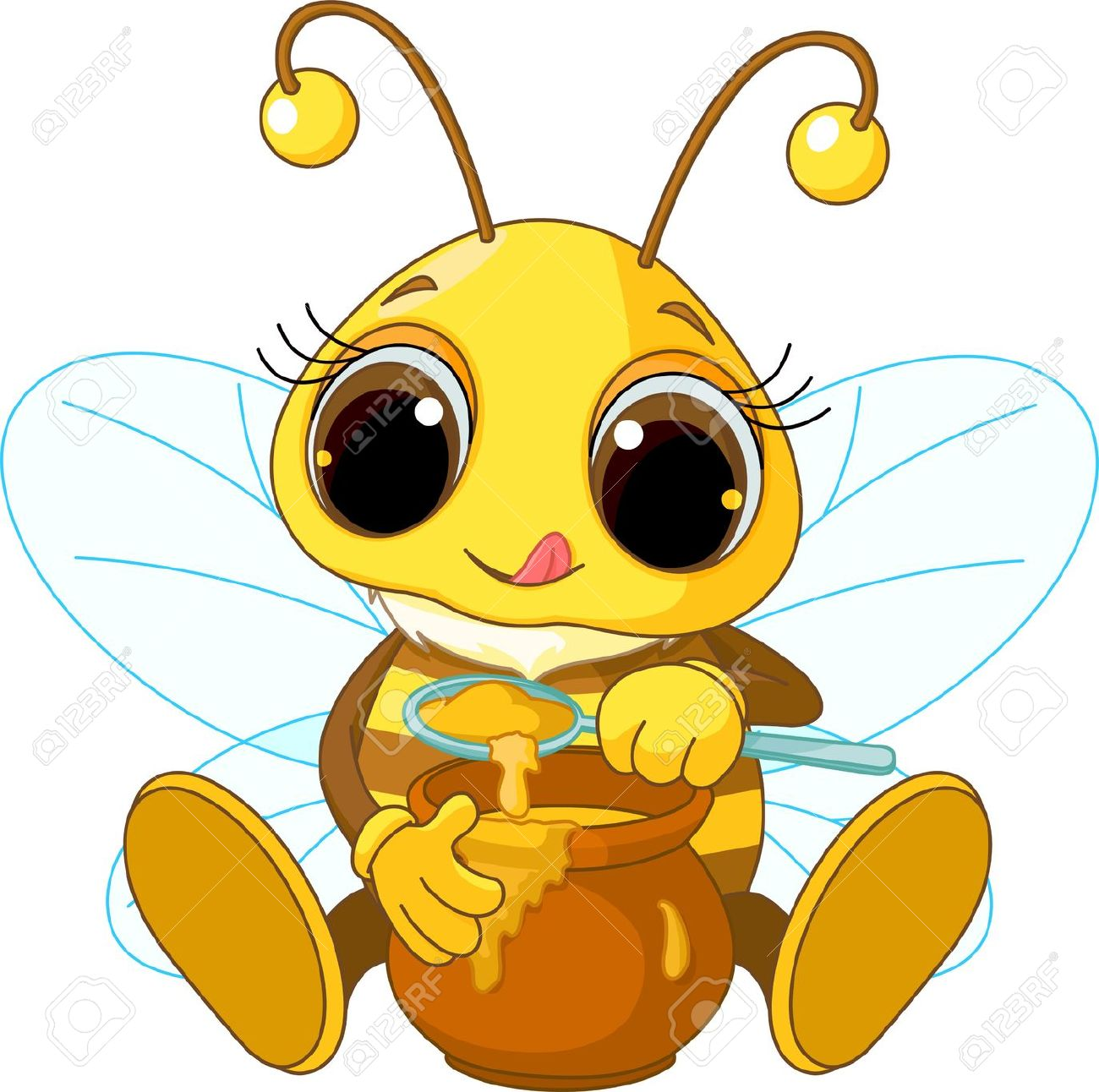 1300x1292 Cartoon Bee Stock Photos, Pictures, Royalty Free Cartoon Bee