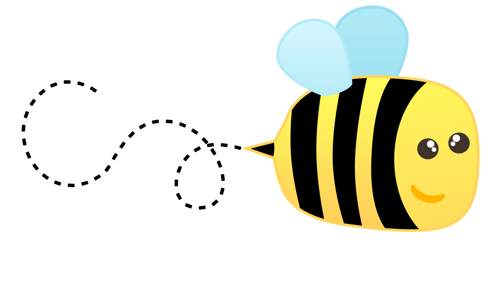 1600x980 Cute Bee Clipart Free Clipart Images 4