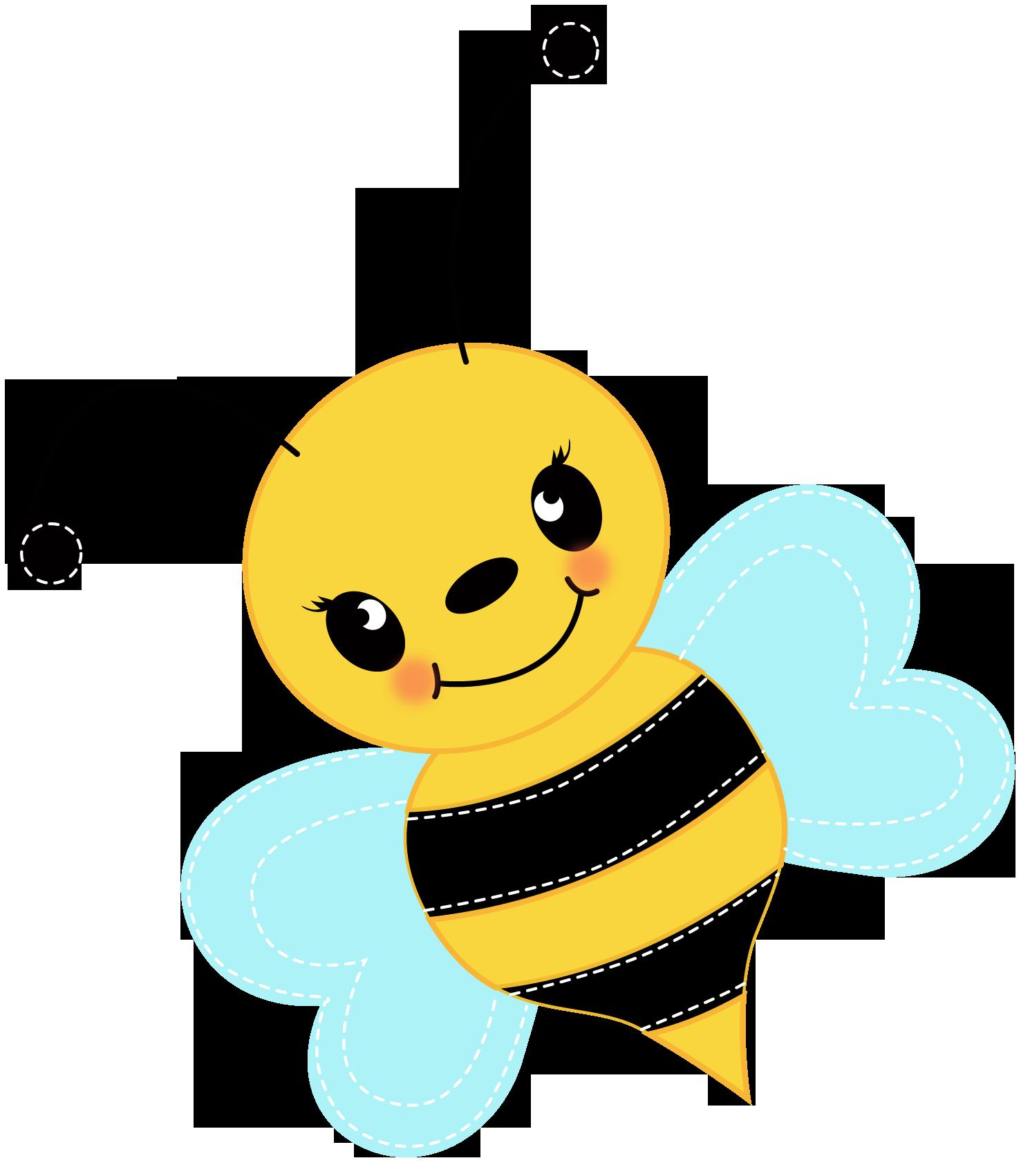 1490x1702 Free Cute Bee Clip Art For Clipart Panda