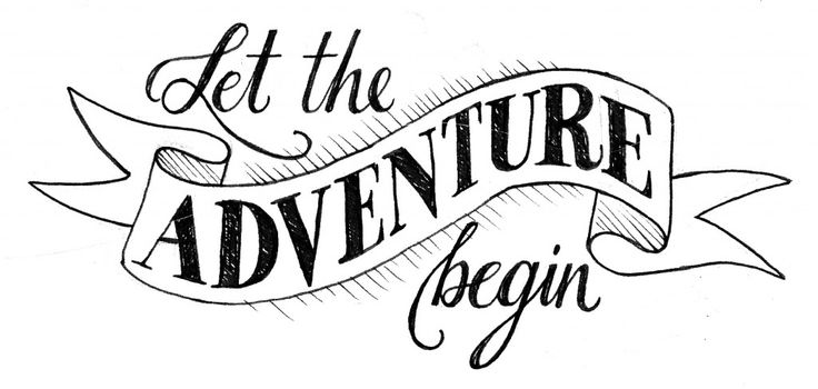 736x350 let the adventure begin Print and Paper Cricut