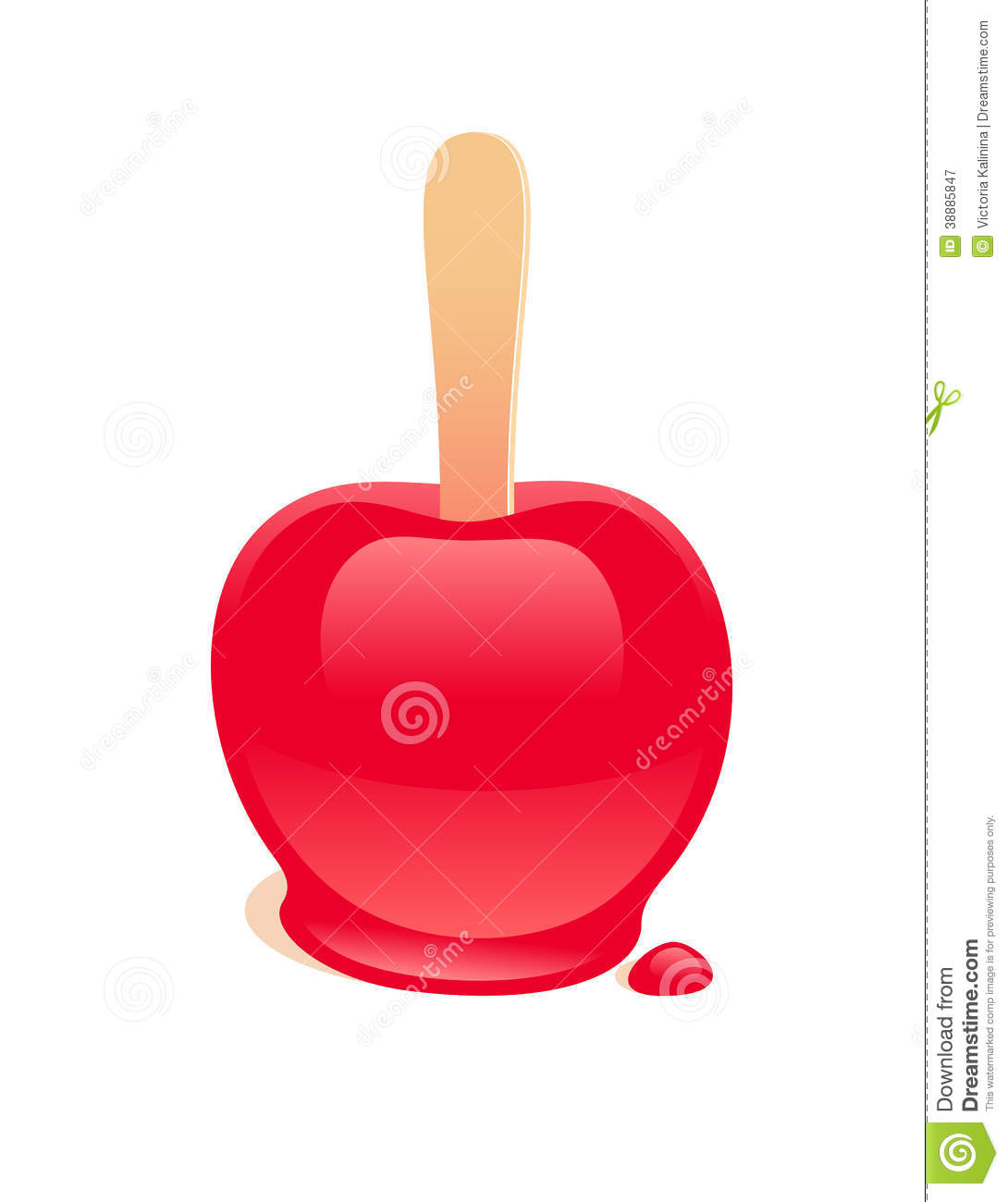 1090x1300 Candy Apple Clipart