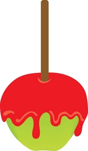 176x300 Candy Apple Clipart Image