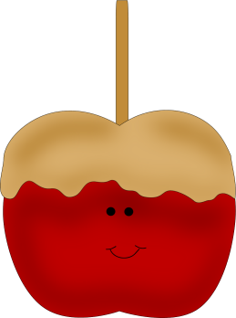 259x348 Caramel Apple Clip Art