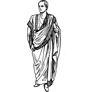 300x300 Toga (Clothing) Clipart, Cliparts Of Toga (Clothing) Free Download