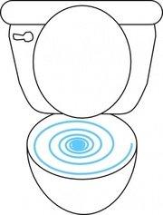 180x237 Child Toilet Clip Art, Vector Child Toilet