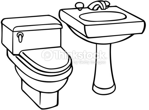 Toilet Clipart Black And White | Free download on ClipArtMag