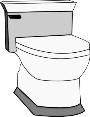 308x400 Potty Toilet Clip Art Free Clipart Images