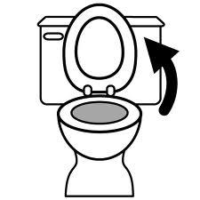 225x225 Toilet Seat Down Clip Art Cliparts