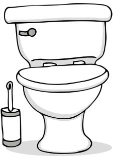 225x312 Toilet Clipart Kid Toilet