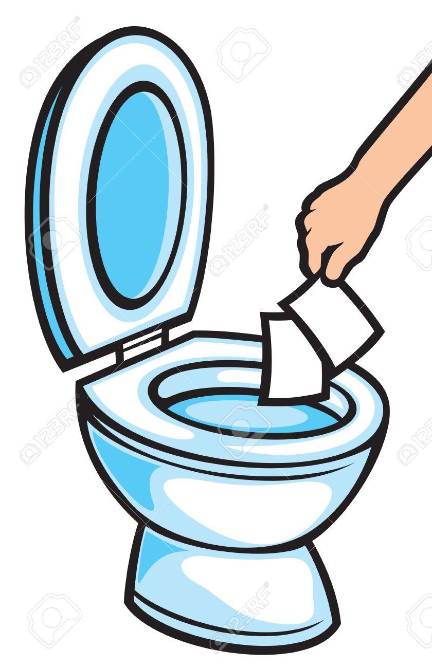 840x1300 Toilet Clipart Towel