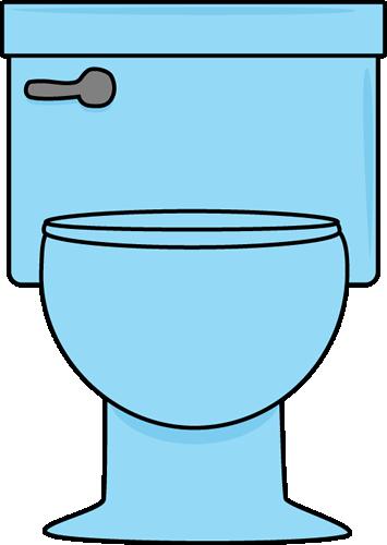 355x500 Blue Toilet Clip Art