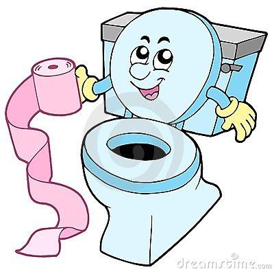 Toilet Paper Clipart