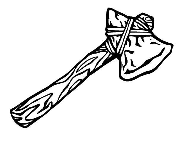 Ax Head Clip Art : Tomahawk clipart free download best on