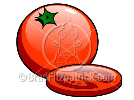 432x324 Cartoon Tomato Clipart Picture Royalty Free Tomato Clip Art