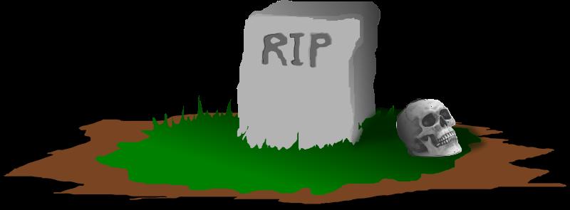 800x295 Free Rip Tombstone Clip Art