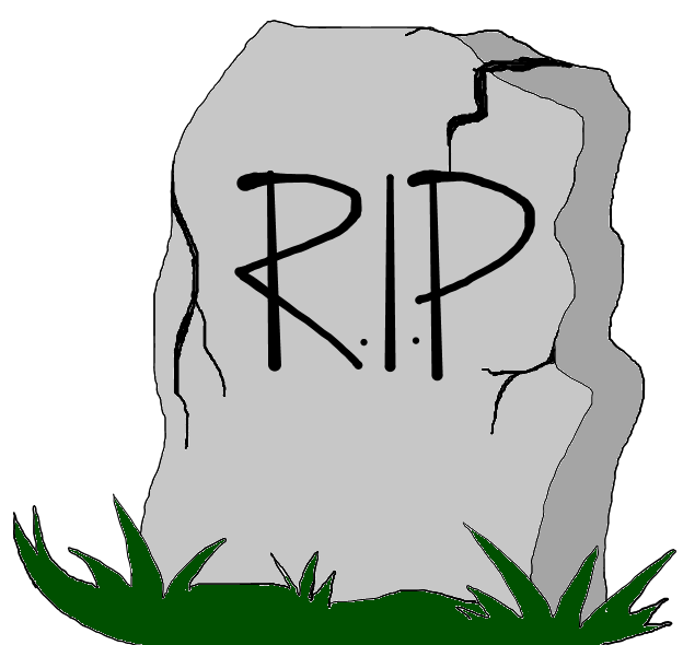 624x590 Headstone Clipart Rest In Peace