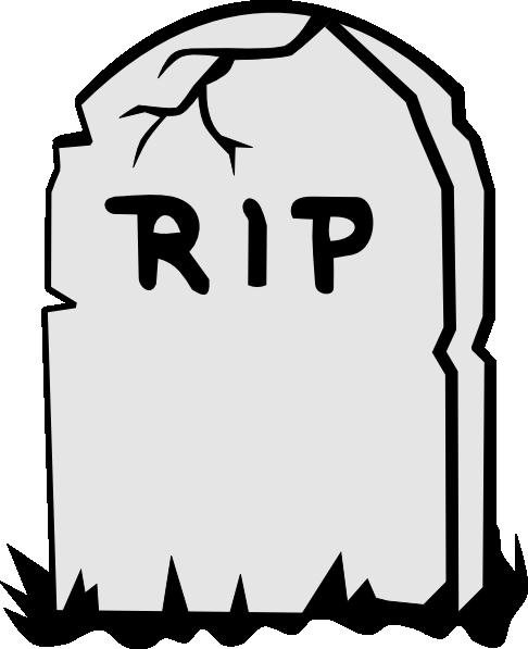 486x597 Rip Tombstone Clip Art