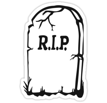 375x360 Tombstone Clipart Rest In Peace