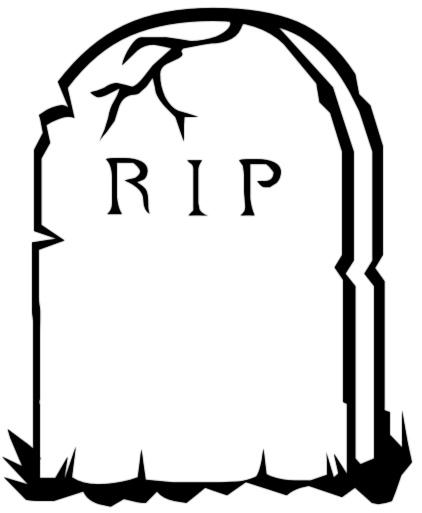 422x513 Death Clipart Gravestone