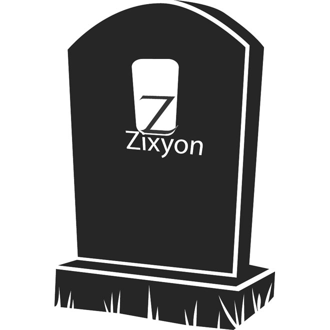 660x660 Gravestone Vector Illustration