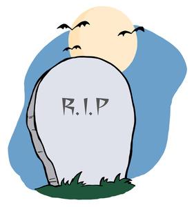 281x300 Headstone Grave Clipart
