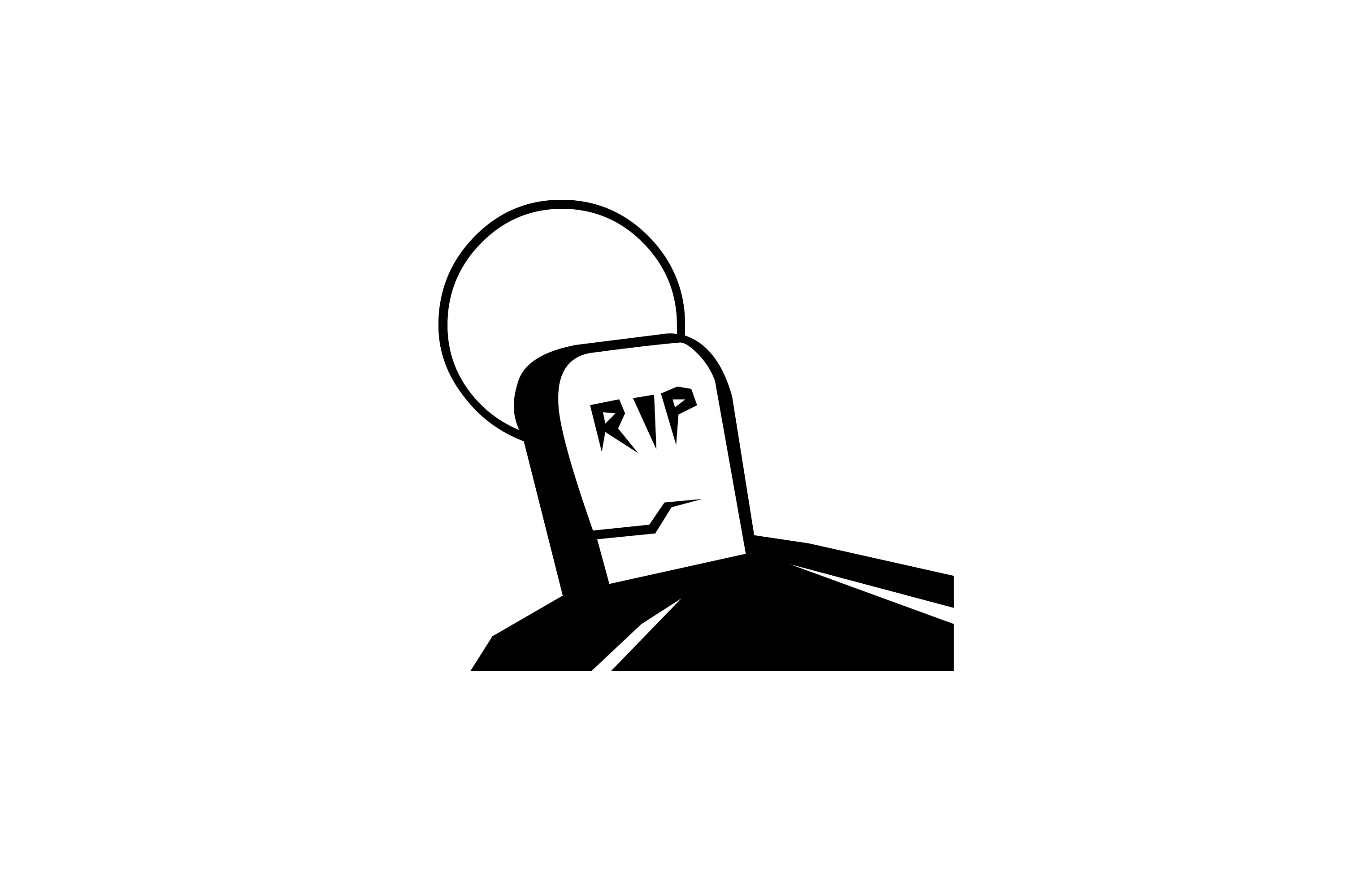 3000x2000 Image Of Rip Headstone Creepyhalloweenimages