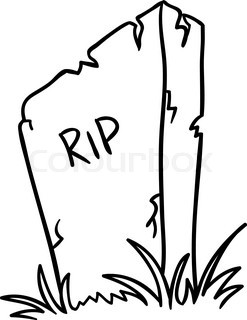 247x320 Tombstone Stock Vector Colourbox