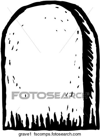 345x470 Clipart Of Grave 1 Grave1