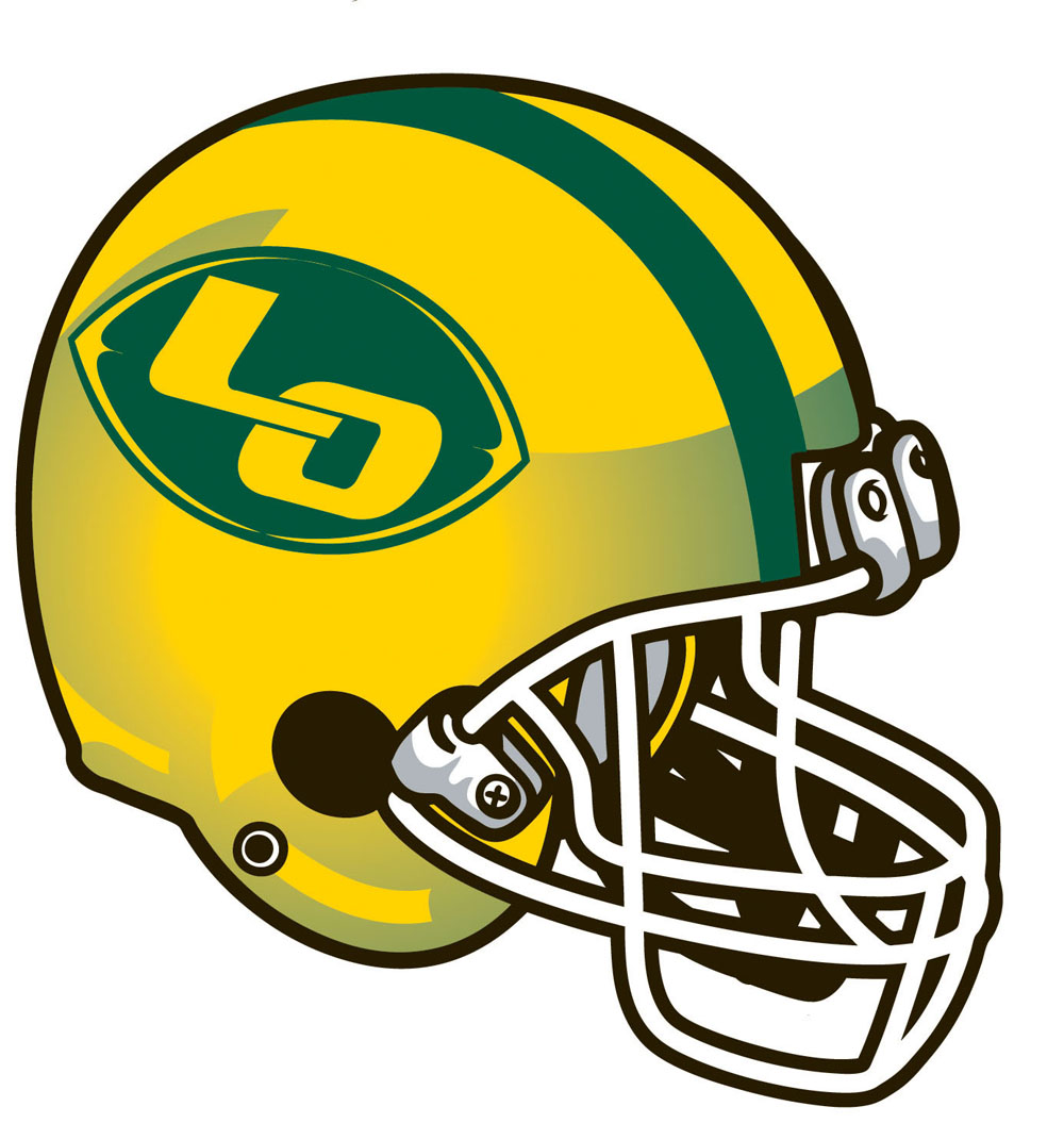 1000x1055 Yellow And Green Football Helmets Clipart