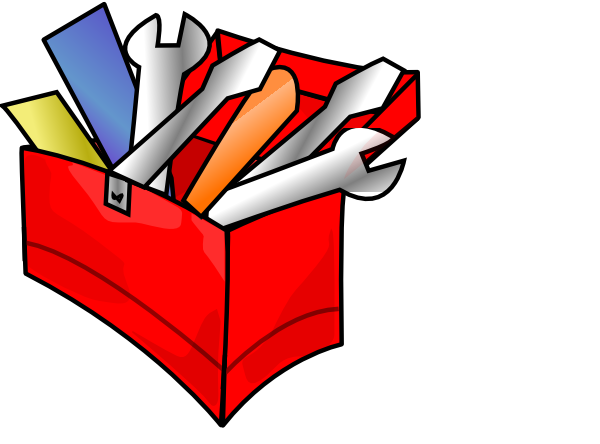600x444 Red Toolbox Clip Art