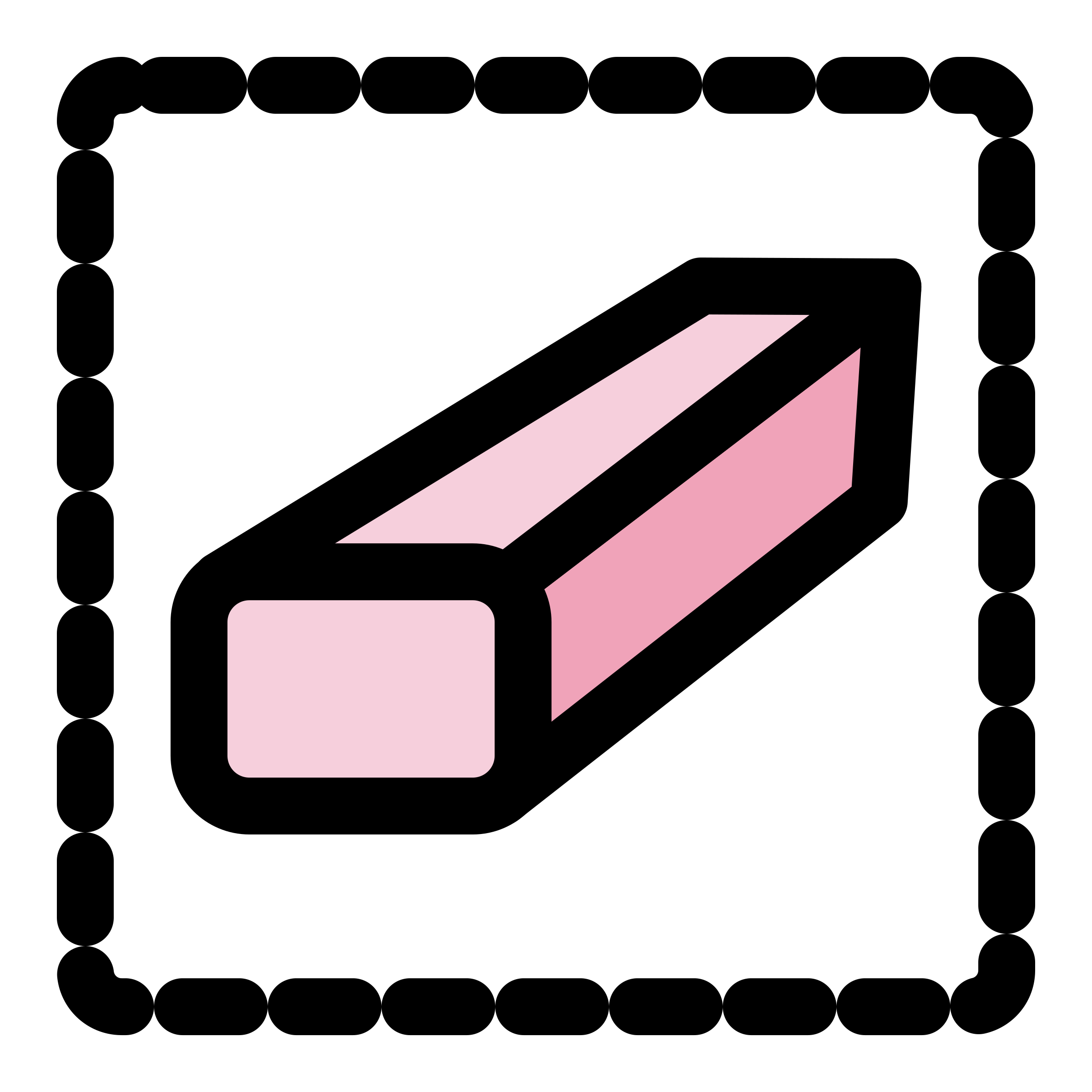 2400x2400 Clipart Primary Tool Eraser Selection