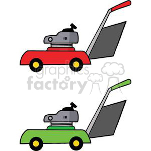 300x300 Royalty Free 2455 Royalty Free Gardening Tools Mowers 379913