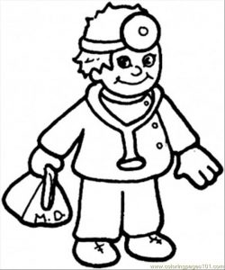 250x300 Coloring Pages Coloring Page Doctor Pages 12 Tools Coloring Page