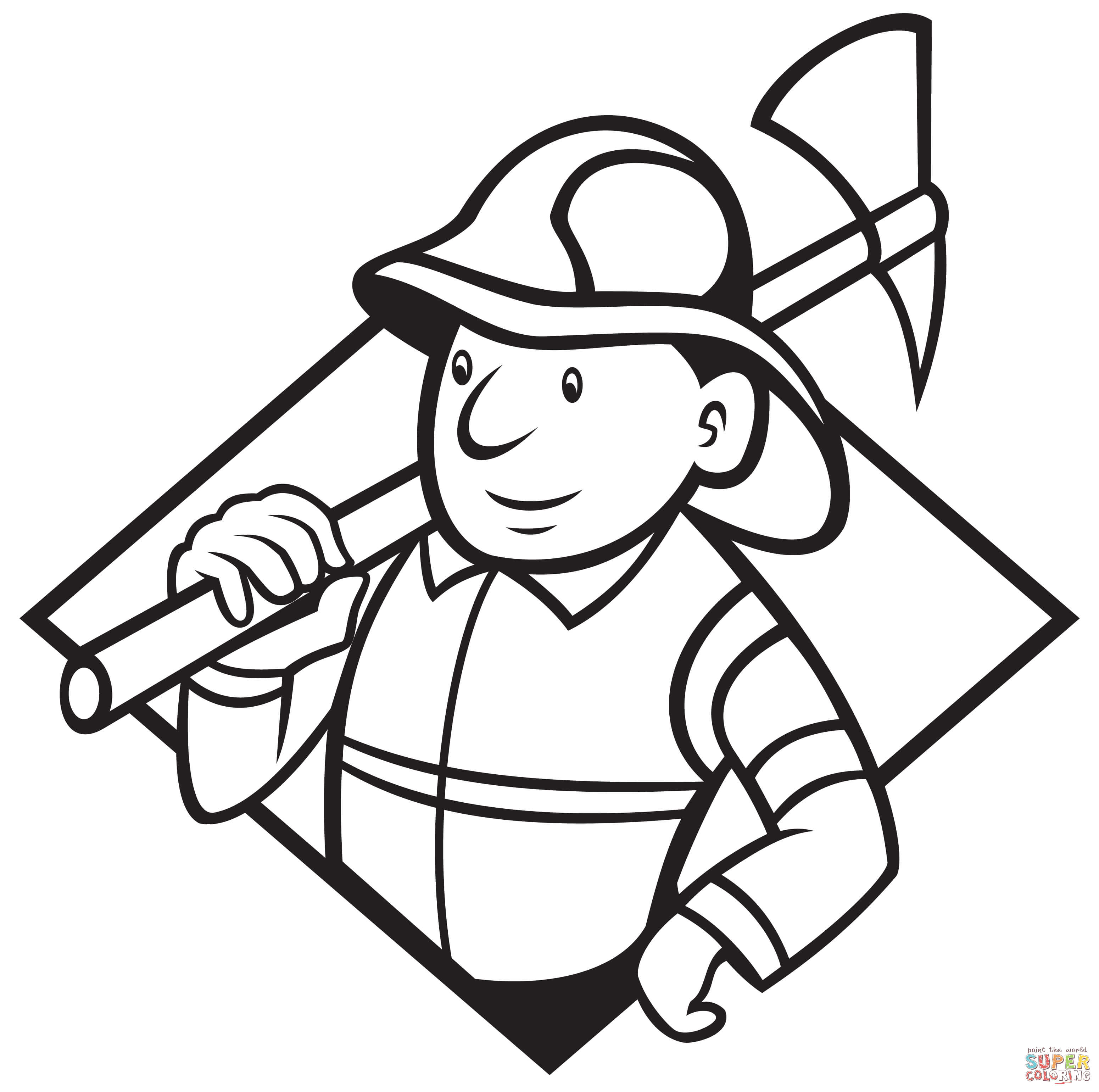 3100x3080 Good Fireman Coloring Pages On Firefighter Fire Fighter Free Tools